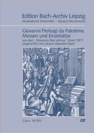 Messen Und Einzelsätze Giovanni Pierluigi da Palestrina laflutedepan