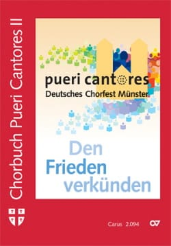 Chorbuch Pueri Cantores Volume 2 - Partition - laflutedepan.com