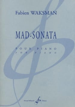 Fabien Waksman - Mad-Sonata - Partition - di-arezzo.fr