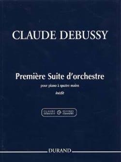 Claude Debussy - 1ère Suite D'orchestre. 4 Mains - Partition - di-arezzo.fr
