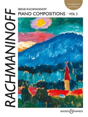RACHMANINOV - Piano Compositions. Volume 2 - Sheet Music - di-arezzo.co.uk