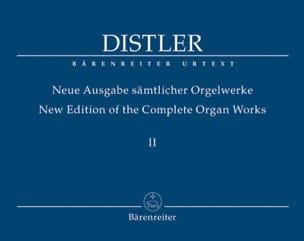 Neue Ausgabe Sämtlicher Orgelwerke Volume 2 Hugo Distler laflutedepan