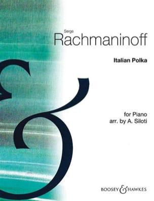 RACHMANINOV - Polka italiana - Partitura - di-arezzo.es
