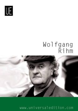 Neue Alexanderlieder - Wolfgang Rihm - Partition - laflutedepan.com