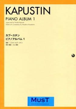 Nikolai Kapustin - Piano Album 1. - Partition - di-arezzo.fr