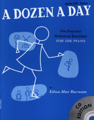 - A Dozen A Day Volume 1 - avec CD en anglais - Partition - di-arezzo.fr