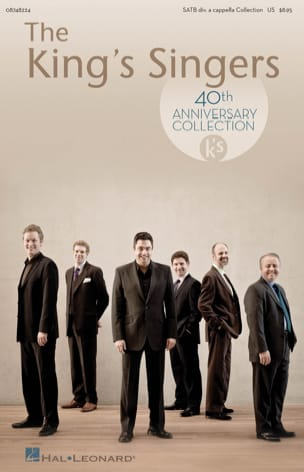 The King's Singers 40th Anniversary Partition Chœur - laflutedepan