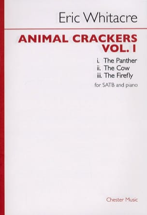Eric Whitacre - Animal Crackers Volume 1 - Partition - di-arezzo.fr