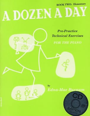 A Dozen A Day Volume 2 - avec CD en Anglais Partition laflutedepan