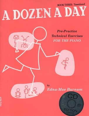 - A Dozen A Day Volume 3 - en anglais (avec CD) - Partition - di-arezzo.fr