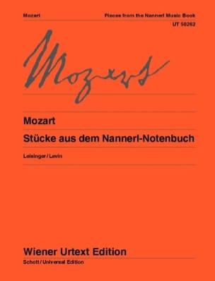 Stücke Aus Dem Nannerl-Notenbuch MOZART Partition Piano - laflutedepan