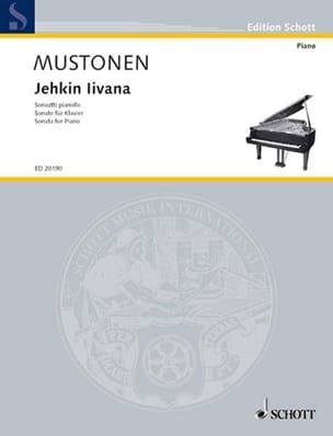Jehkin Livana - Mustonen - Partition - laflutedepan.com