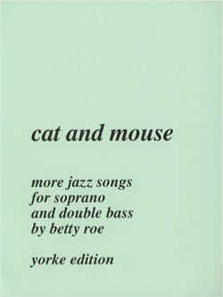 Cat And Mouse Betty Roe Partition Contrebasse - laflutedepan