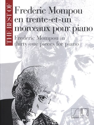 Federico Mompou - 31 pieces - Sheet Music - di-arezzo.co.uk