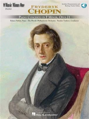 Frédéric Chopin - Concerto Pour Piano N° 2 Opus 21 - Partition - di-arezzo.fr