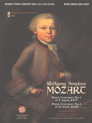 Concertos pour piano KV 37 et 40 - MOZART - laflutedepan.com