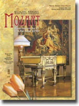 MOZART - Concerto K 595 - Partition - di-arezzo.fr