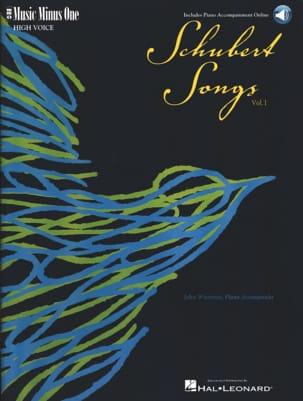 Lieder Voix Haute Volume 1 - Franz Schubert - laflutedepan.com