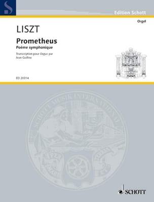 Prometheus LISZT Partition Orgue - laflutedepan