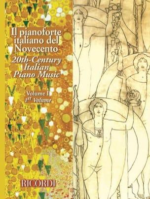 - Il Pianoforte Italiano Del Novecento vol. 1 - Partition - di-arezzo.fr