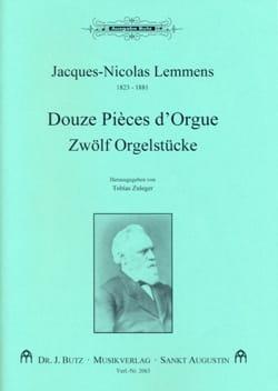 Orgelwerke Volume 6 Nicolas-Jacques Lemmens Partition laflutedepan