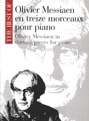 Olivier Messiaen - 13 Pieces For Piano - Partition - di-arezzo.co.uk