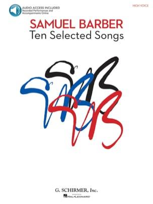 Samuel Barber - 10 ausgewählte Songs. Hohe Stimme - Noten - di-arezzo.de