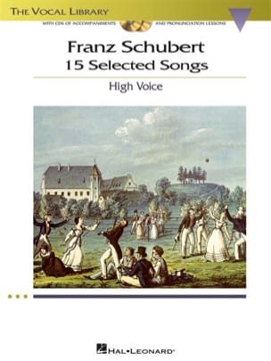 SCHUBERT - 15 Selected Songs. Aloud - Sheet Music - di-arezzo.co.uk