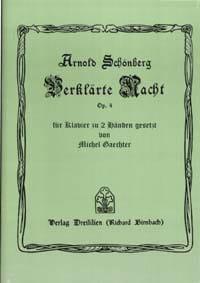 Arnold Schoenberg - Verklärte Nacht Op. 4 - Partition - di-arezzo.fr