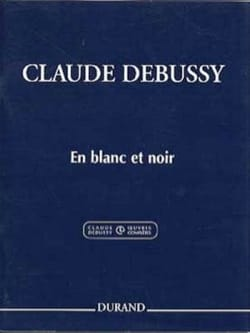 DEBUSSY - In White and Black. 2 Pianos - Sheet Music - di-arezzo.co.uk