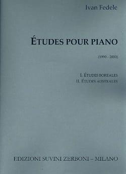 Ivan Fedele - Etudes pour piano - Partition - di-arezzo.fr