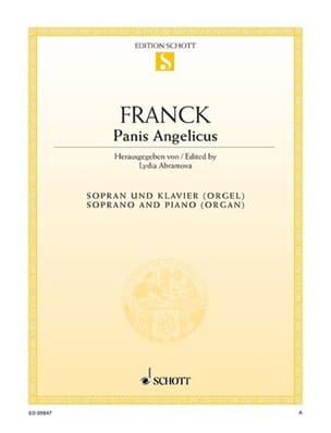 César Franck - Panis Angelicus. Aloud - Sheet Music - di-arezzo.co.uk