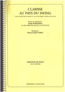 Pierre-Gérard Verny - Clarisse In The Country Of Swing. Chorus alone - Sheet Music - di-arezzo.co.uk