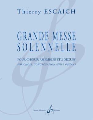 Thierry Escaich - Grande Messe Solennelle - Partition - di-arezzo.fr