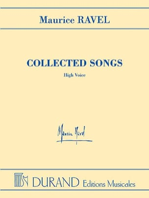 Maurice Ravel - Collected Songs. Aloud. EXHAUSTED - Sheet Music - di-arezzo.com