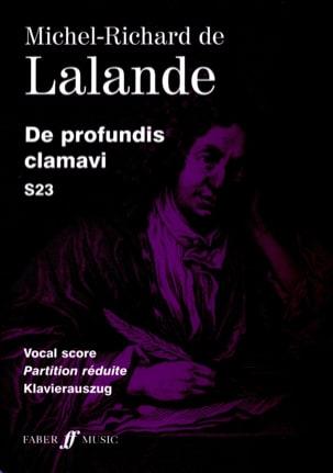 Michel-Richard de Lalande - De Profundis Clamavi S 23 - Partition - di-arezzo.fr