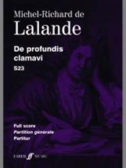 Michel-Richard de Lalande - Da Profundis Clamavi S 23. Driver - Partitura - di-arezzo.it