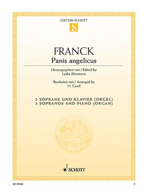 Panis Angelicus César Franck Partition Duos - laflutedepan