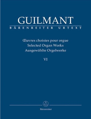Oeuvres Choisies pour Orgue Volume 6 - laflutedepan.be