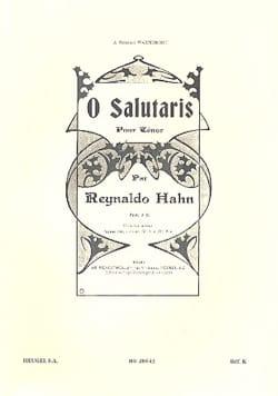O Salutaris - Reynaldo Hahn - Partition - Mélodies - laflutedepan.com