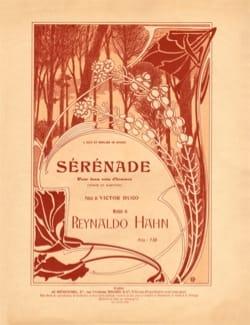 Reynaldo Hahn - Sérénade - Partition - di-arezzo.fr