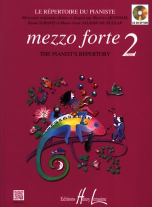 Mezzo Forte Volume 2 Partition Piano - laflutedepan
