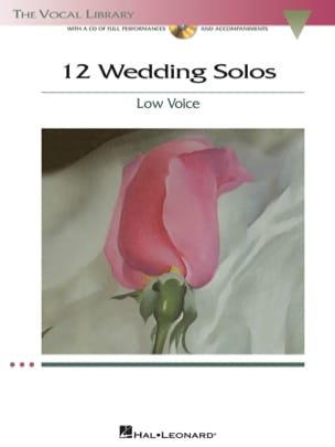 - 12 Weddings Solos. Voix Grave - Partition - di-arezzo.fr