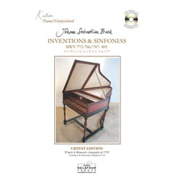 BACH - Inventions et Sinfonias - Partition - di-arezzo.fr