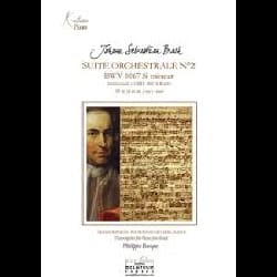 BACH - Suite Orchestrale N° 2 BWV 1067. 4 mains - Partition - di-arezzo.fr