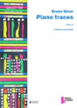 Piano Traces Bruno Giner Partition Piano - laflutedepan
