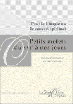 Petits Motets Du 16ème A Nos Jours Partition Duos - laflutedepan