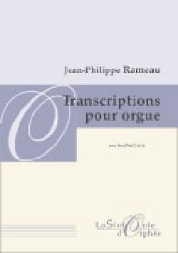Transcription Pour Orgue RAMEAU Partition Orgue - laflutedepan