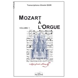 MOZART - Mozart A L'orgue Volume 1 - Partition - di-arezzo.fr
