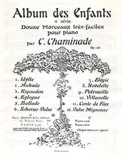 Cécile Chaminade - Álbum infantil 2nd Opus Series 126 - Partitura - di-arezzo.es